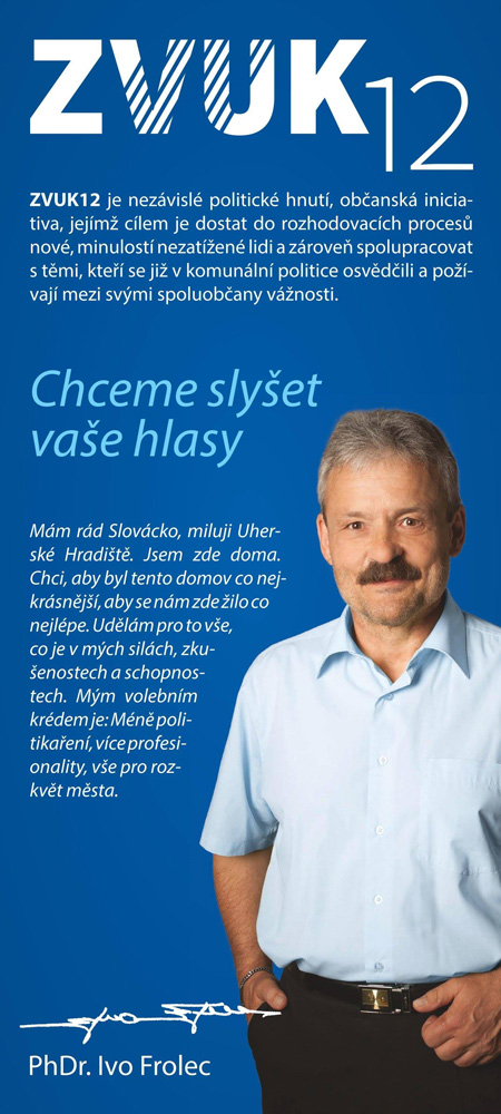 Ivo Frolec - lídr kandidátky