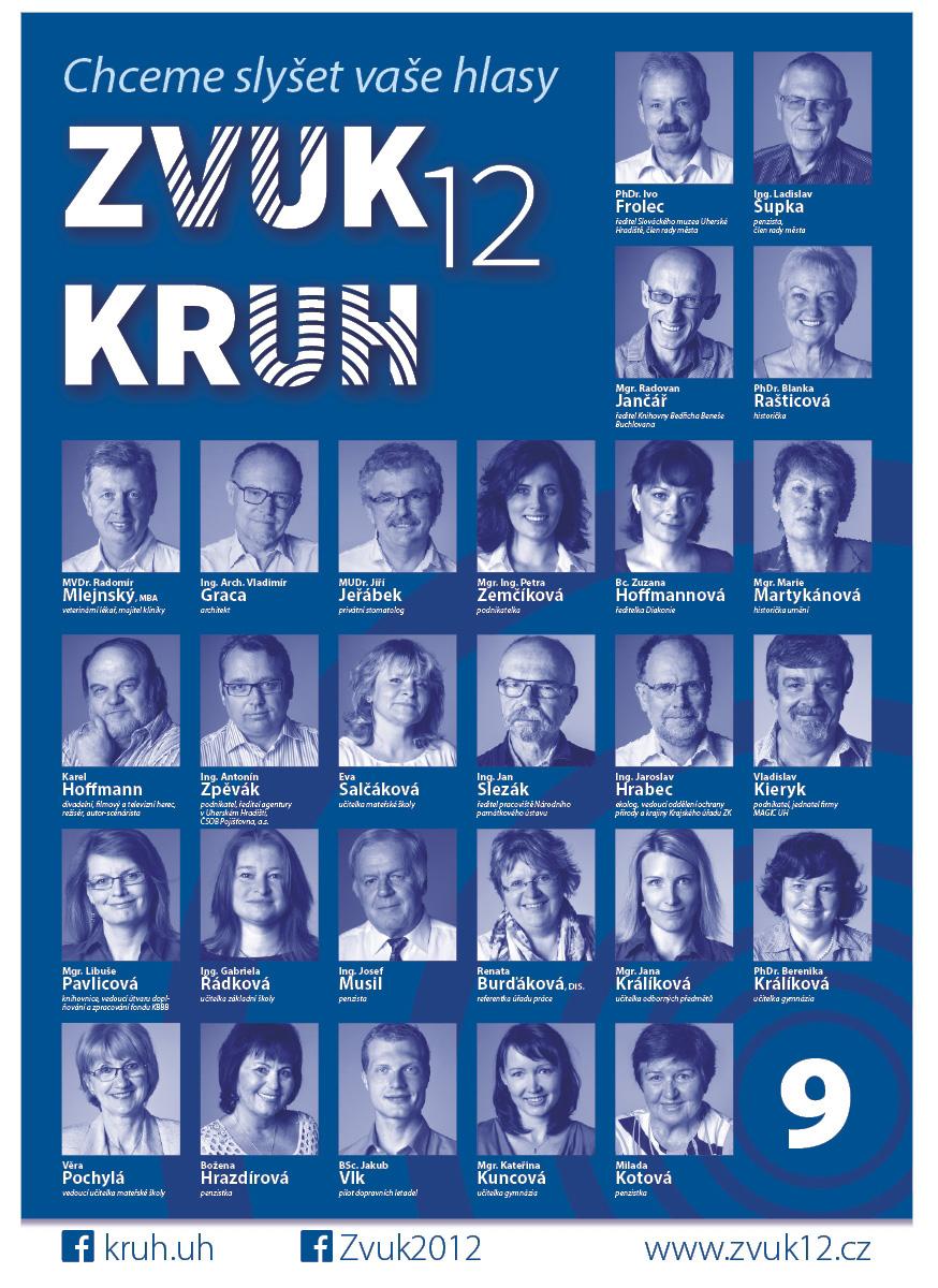 Kandidátka KRUH-ZVUK12 2014