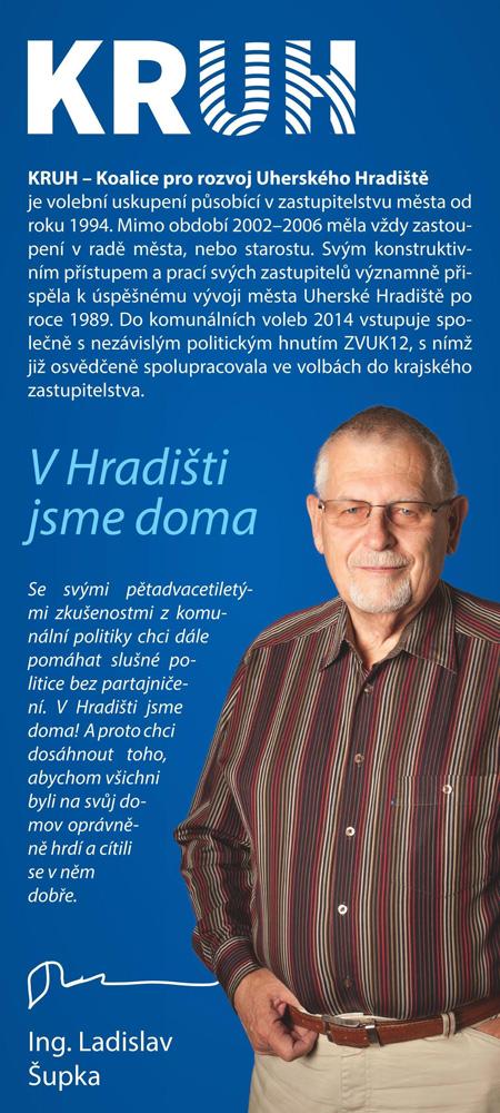 Ladislav Šupka - číslo na kandidátce 2