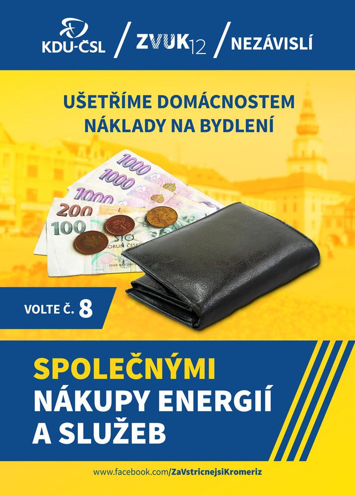 Společné nákupy energií a služeb pro domácnosti